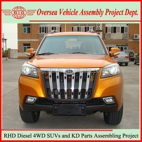 New 4WD Diesel SUV and SUV KD Parts for Sale