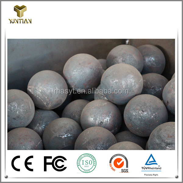 High quality cast iron grinding balls for mining