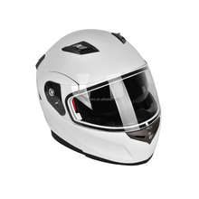 DOT Standard White Ski Bluetooth Helmet with Bluetooth Headset