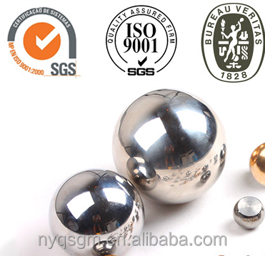 G100 6.35mm SUS201 Stainless steel ball for automobile <strong>parts</strong>