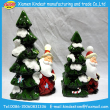 Fashionable Price low painted Ceramic Christmas tree Ornaments