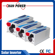 off grid hybrid solar inverter 5kva 4000w 48 to 220V pure sine wave built-in MPPT 60A solar charge controller