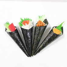 delicate 3D pvc fake sushi handroll japanese food model
