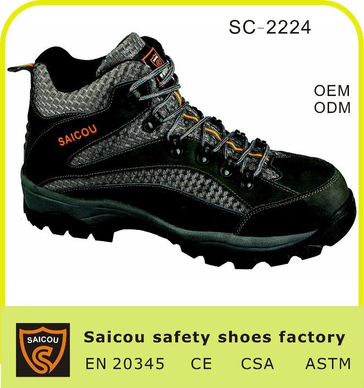 steel toe king safety shoes manufacturer (SC-2224)