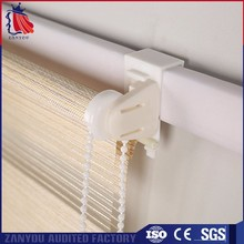 Top quality custom embroidery fabric for zebra blinds