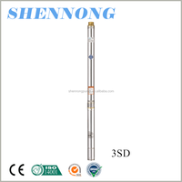 1.5 HP high pressure agricultural irrigation deep well submersible pump to pump water 3 inch