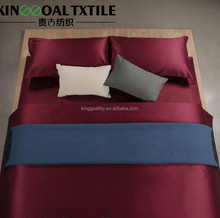 European new design product economical hotel type bamboo fabric bedding set