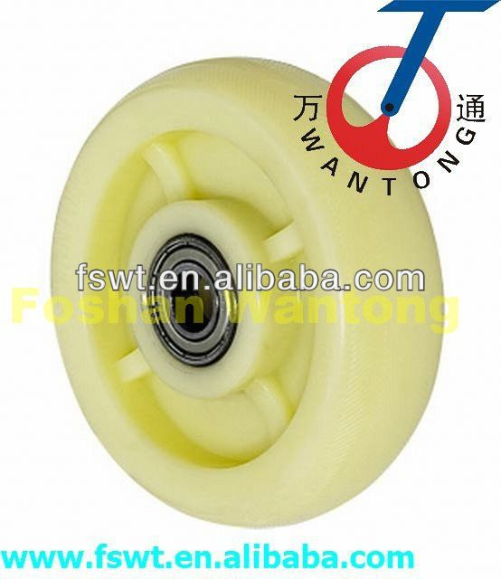 High Quality Nylon Industrial Rotating Furniture plastic swivel casters