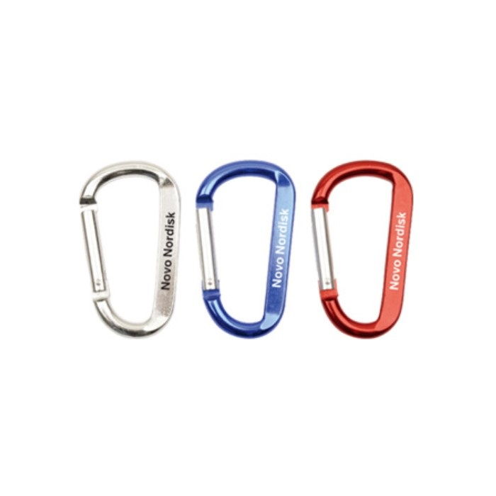 Custom Wholesale 78mm Aluminum Carabiner <strong>Hook</strong>