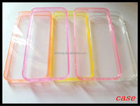 Wholesale - Hard Plastic PC clear crystal transparent Ultra Thin back cover case for iphone 5 5S