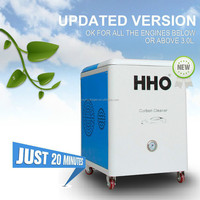HHO Car carbon cleaning car wash service station equipment
