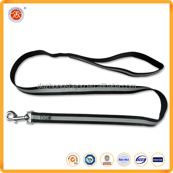 2016 wholesale High quality cheap firm reflective nylon pet dog leash for easy walking
