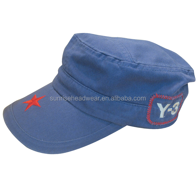 Wholesale Promotional Custom High Quality distressed military hat