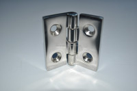 HEAVY-DUTY-STAINLESS STEEL BUTT HINGE 50mm A4- 316 MARINE BOAT DOOR HINGE