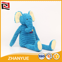Good quality colorful elephant baby doll toy