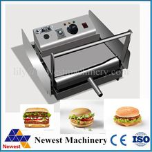 Fask making meat bread crumb coating machine/burger bun rotary oven commercial