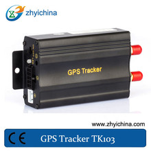 Five authorized phone number to protect tracker information gps online tracker TK103A with SD card and USB cable