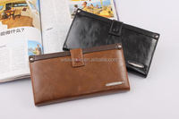 Best quality cheap Genuine leather Men Fashion and trendy wallet wholesale