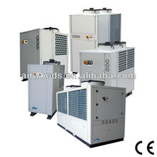 AIR COOLED LOW TEMPERATURE INDUSTRIAL SCREW TYPE WATER CHILLERS