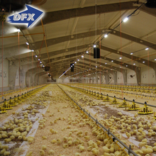 Alibaba China DFX Cheap Poultry Farming Prefabricated Industrial Chicken House