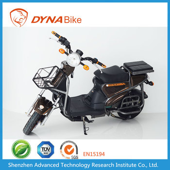 Dynabike Sheriff X1 - 500~1000W Motor - 20AH Lead Acid Battery - 50Km/h Max Speed - Cargo Electric Biccycle