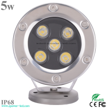 5w Tempered Glass Underwater Swimming Pool Led Light