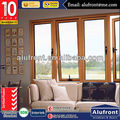 Top Quality Aluminum Wood Cladding Windows