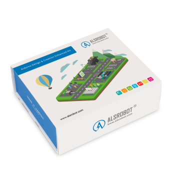 ALSROBOT Design Creation Enhanced Kit for Arduino Start kit Programming Steam Education(More than 17 Lessons)