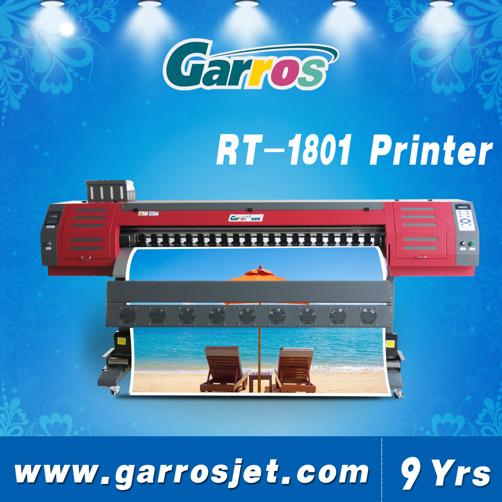 Garros refretonic roll to roll knife coated substrate printing guangzhou large format printer 3.2m