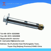 1/2X80 Israel hex bolt single sleeve type expansion anchor