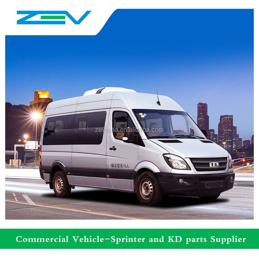 ZEV, YTK6660 Diesel sprinter for passenger van mini bus cargo van