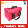 high quality reusable eco friendly pink color tote cooler lunch bag carry shoulder bag