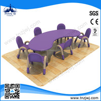 New Arrival Preschool Plastic Childrens Table and Chairs for sale