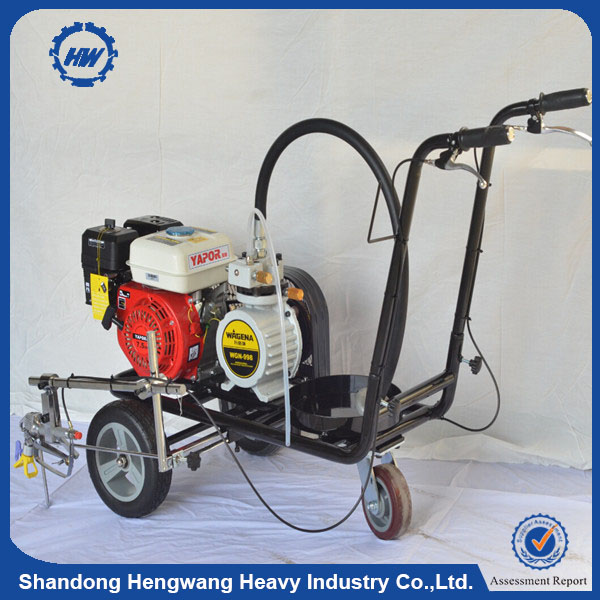 Best quality used thermoplastic road marking machine with lowest price