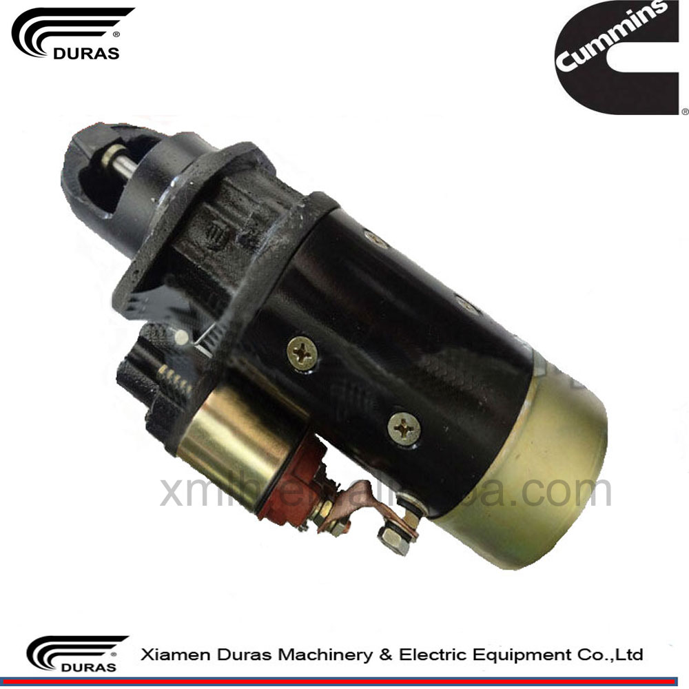 Genuine cummins starter motor 24v starter motor specification 4935789 for 4BT engine