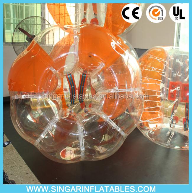 Inflatable Human Bubble Bumpers football sale