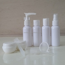 Travel Bottles Kit plastic cosmetics packaging travel bottle set