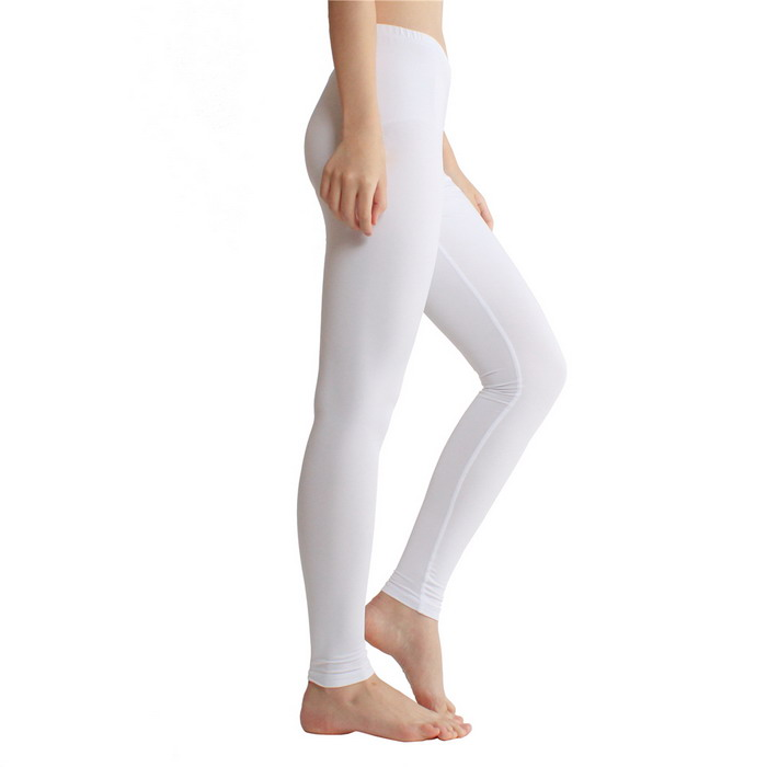 Cheap Wholesale White Polyester Spandex Fitness Compression sports workout gym tights seamless Yoga Pants Womens yoga leggings