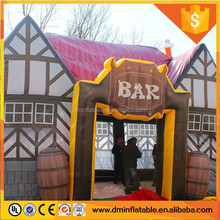 2016 advertising inflatable bar inflatable pub