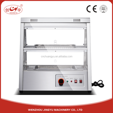 Chuangyu hot sale electric glass food cake display warmer showcase insulation cabinet