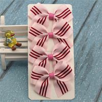 delicate handmade ribbon bows for gift wrapping and DIY