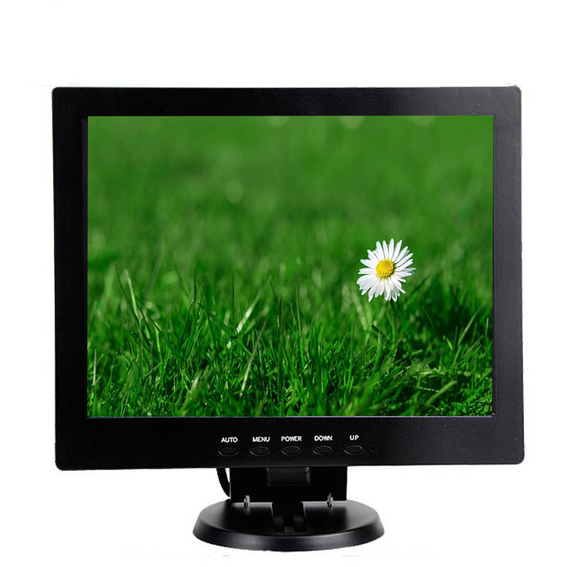 12 volt dc cheap 10 inch lcd monitor with hdmi vga dvi av input for sale