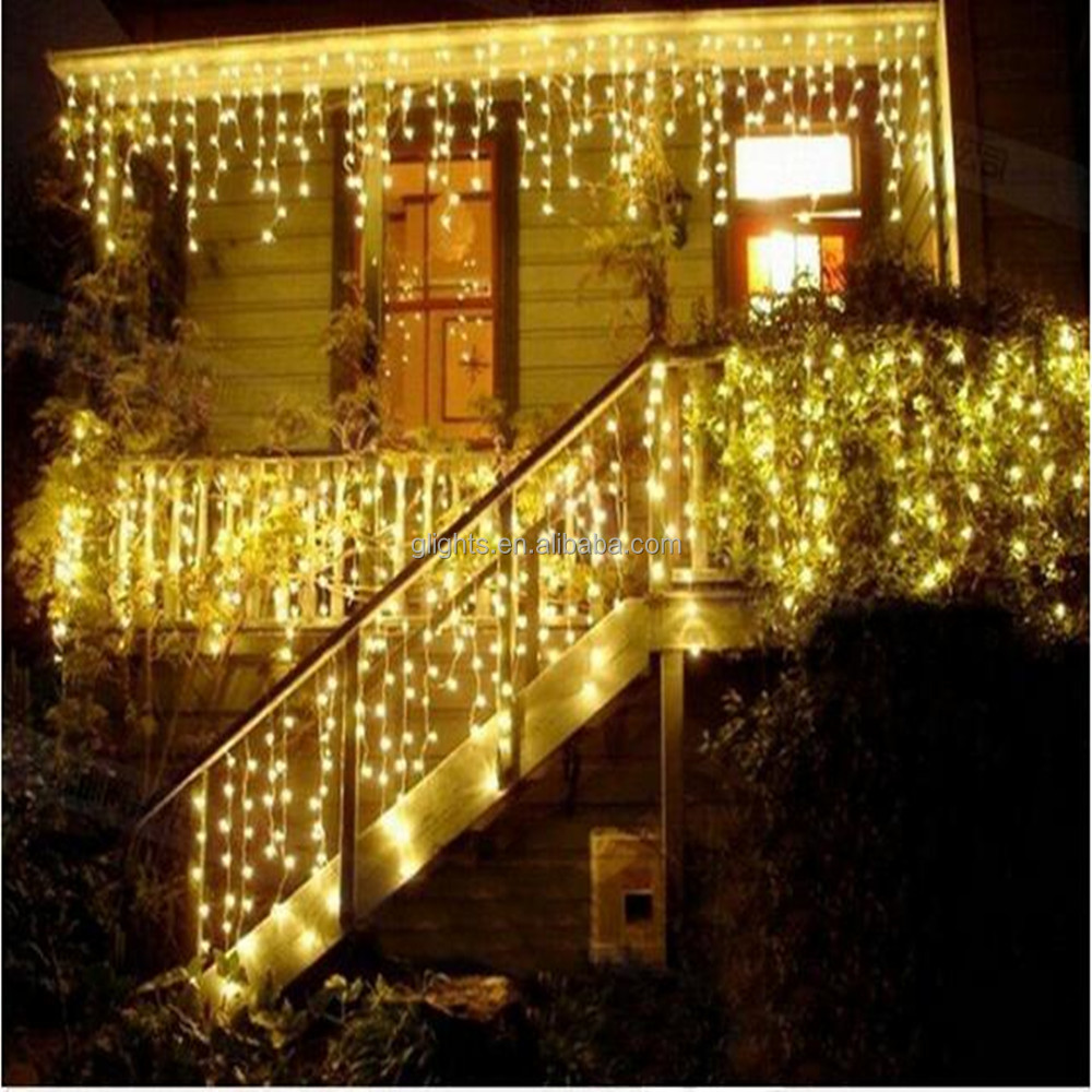 outdoor christmas garden holiday decoration light LED String Lights