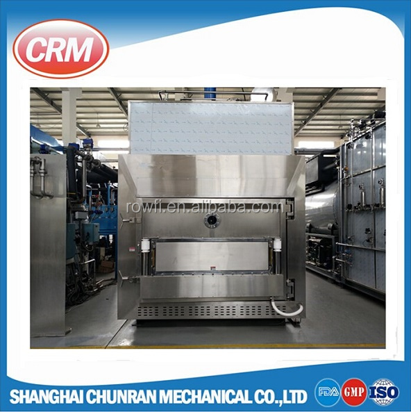 Computerized industrial vacuum spray freeze drying equipment