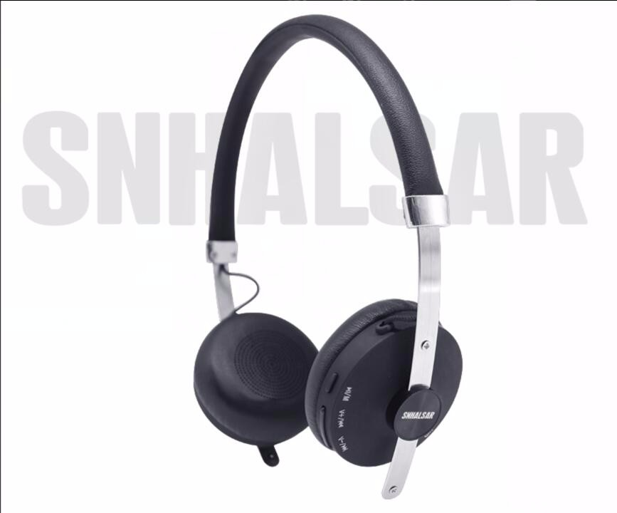 Good quality Gold metal v4.0 bluetooth stereo headphone