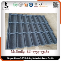 Best Choice Factory Price Roofing Building Material Stone Coated Metal Roof Tile galvalume steel roof tiles