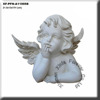 popular statue resin angel figurine for home and garden decor