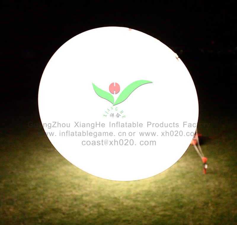 Hot selling <strong>inflatable</strong> Lighted Outdoor LED Helium Balloon