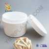 300g Best Value Hot Sale Cosmetic Packaging Plastic White PP Double Wall Body Butter Cream Jar