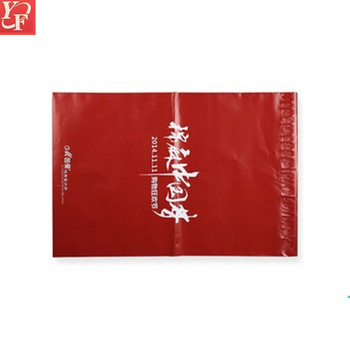 Alibaba design your own printing poly packaging bags